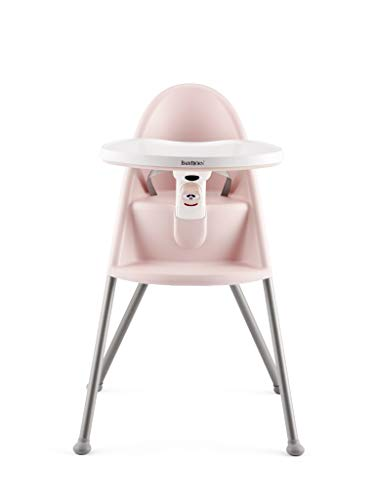 BABYBJÖRN Chaise Haute (Rose pastel/Gris)