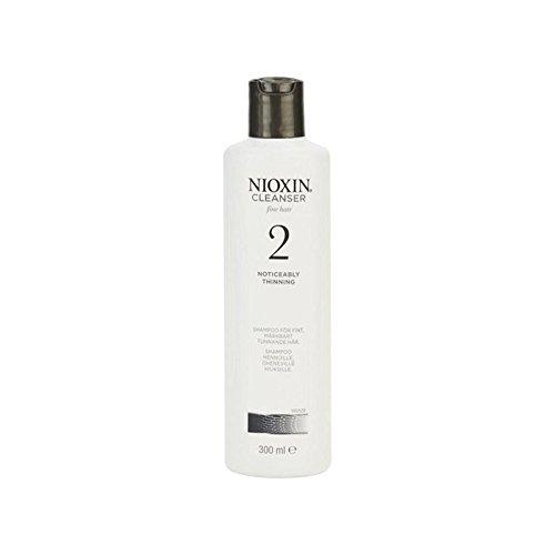 Sistema Nioxin 2 Detergente Shampoo Per Capelli Naturali Notevolmente Assottigliamento (300Ml) (Conf