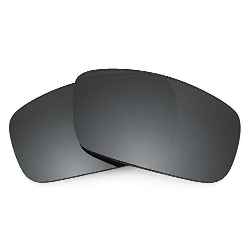 Revant Ersatzlinsen für Spy Optic Logan Polarisierung Elite Schwarz Chrom MirrorShield®