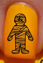 Halloween Maman - Stickers pour ongles YRNAILS