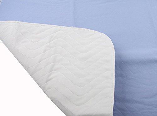 4er Pack Inkontinenzauflage 75 x 90 cm (wiederverwendbare Nässeschutz - , Matratzen - , Kranken - Auflage zu 100% Wasserdicht)