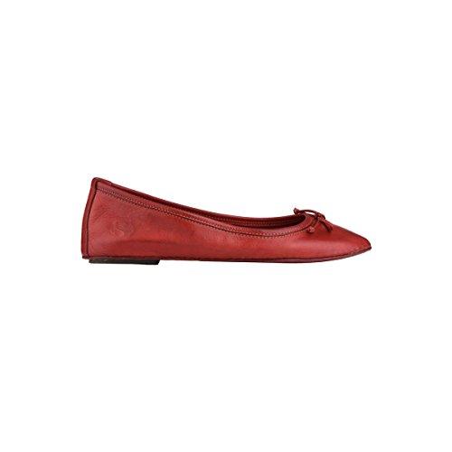 Scarpe da donna - 4422-fglbotw Dk Red