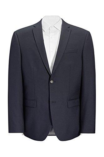 next Homme Costume 100% laine: Veste Bleu Marine