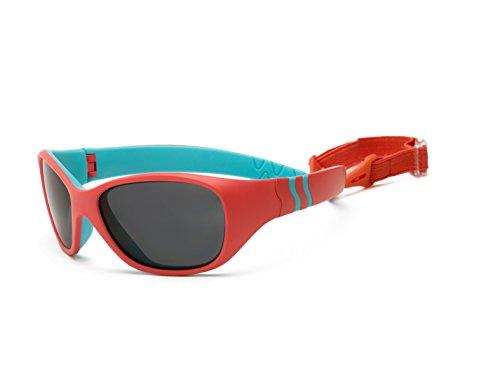 Real Kids Shades Kinder Adventure Uv-Sonnenbrille, Pink/Türkis, OneSize Preisvergleich