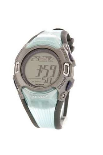 Dunlop DUN-46-G04 - Reloj de caballero de cuarzo, correa de goma color...