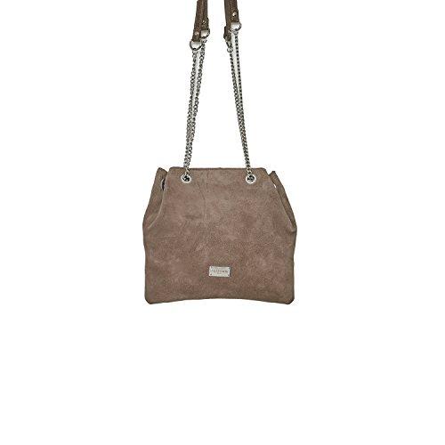 Cherry Paris- lisbon- sacchetto porté épaule- Donna grigio