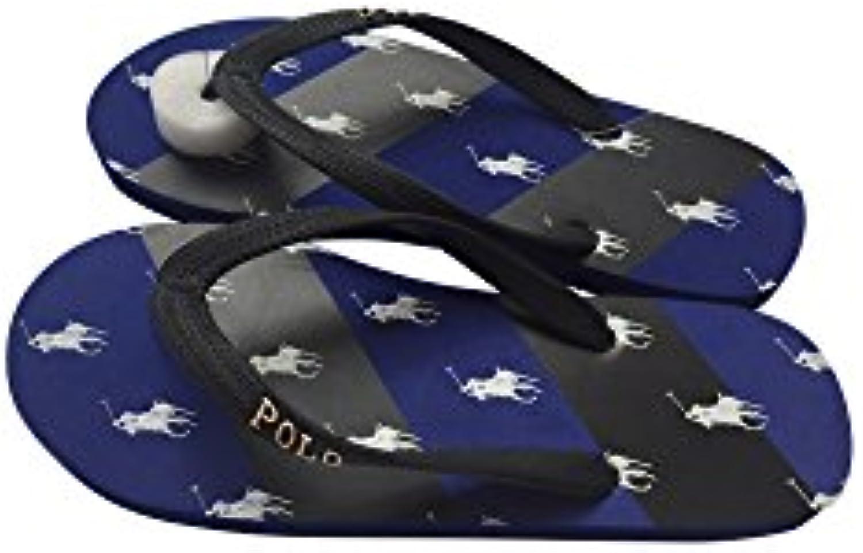 Ralph Lauren - Sandalias de Caucho para Hombre Azul Azul y Negro 39.5 EU