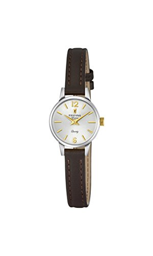 Festina Womens Analogue Classic Quartz Watch with Leather Strap F20260/2