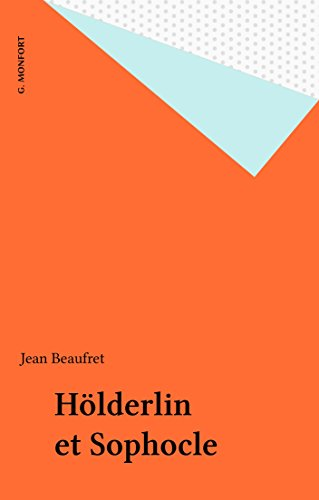 Hlderlin et Sophocle