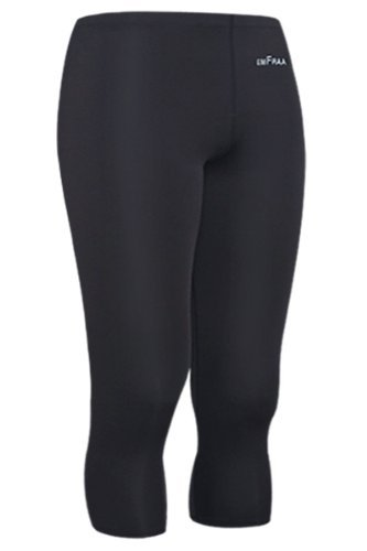emFraa Men's Skin Tight 3/4 Length Compression Pants Running Base layer