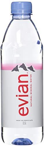 evian Mineralwasser, 1 Pack (24 x 500 ml)