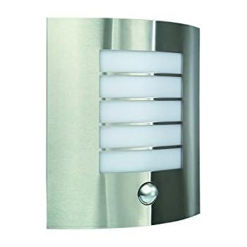 modern outdoor sensor wall lights. massive oslo outdoor wall light stainless steel (requires 1 x 60 watts e27 bulb, modern sensor lights