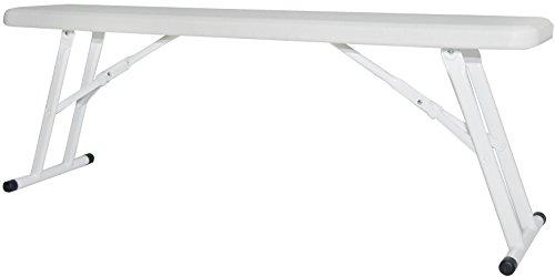 New Storm Halff 120 Kompact Gartenbank (2-er Pack, Off-White