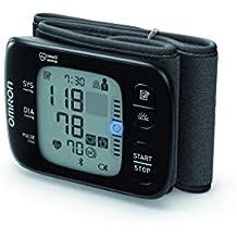 Omron RS7 Intelli IT - Tensiómetro de muñeca, Bluetooth con aplicación Omron Connect para móviles