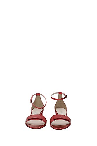 HEDWIGE8276204847 Bally Sandale Femme Cuir Rouge Rouge