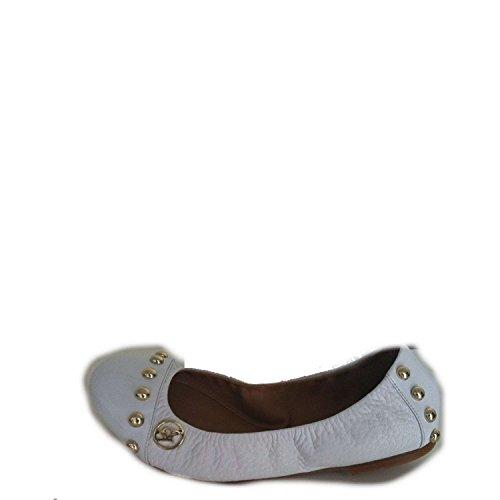 Armani Jeans T5549 Ballerina Schuhe Frau Weiß 36 (Armani Ballerina)