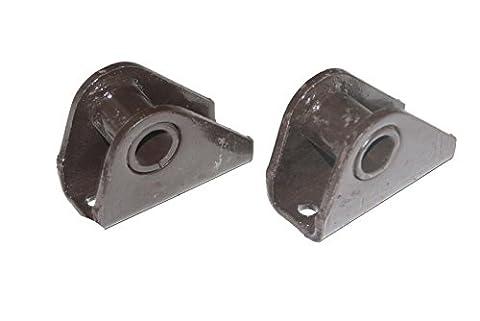 Enfield de Paire de suspension Kit support à anse Willys 55–75CJ-3B Cj3CJ5CJ6Jeep