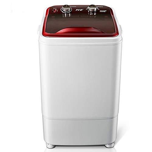 DIOE Tragbare kompakte Mini-Einzelwannen Waschmaschine mit Wasch- und Schleudergang, 6 kg Kapazität für Camping, Apartments, Schlafsäle, College-Zimmer, Wohnmobile und mehr