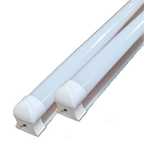 NRG CLEVER T8AL120CW, 9er Pack Cool White LED Röhren T8 integriert 120CM 18W 6500K Alum Plast. -