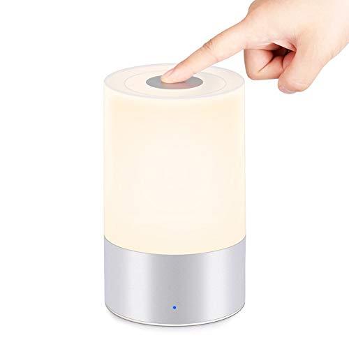 LED Dimmable Touch-Tisch-Licht, Tragbare Powered Wiederaufladbare USB-Nachtlicht 3 Helligkeit (Usb-powered-licht)