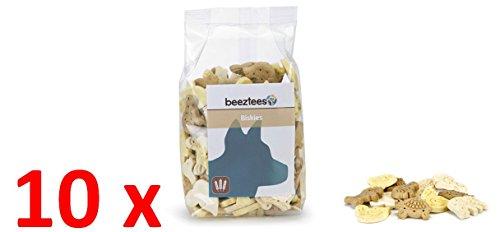 10x 400g Packung Leckerlies Biskies für Hunde, Ideal fürs Training oder für zwischendurch