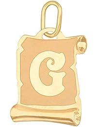 Anhänger Buchstabe F Kettenanhänger Gold Goldanhänger 585er 14KT