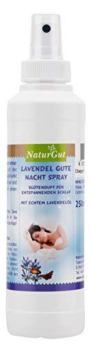 Lavendel Körper-spray (NaturGut Lavendel Gute Nacht Spray mit echtem Lavendelöl 1x 250ml)