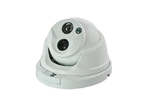 BW BWNR4S 2.0MP 4-in-1 CCTV Format TVI + CVI + AHD + CVBS 1080p Dome Security Camera 3.6mm Wide Angle HD Lens Premium Components New Generation IR LEDs 20M IR Range-White