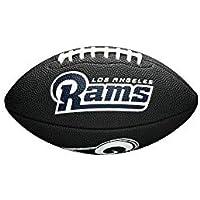 Wilson Los Angeles Rams NFL Mini Football Schwarz