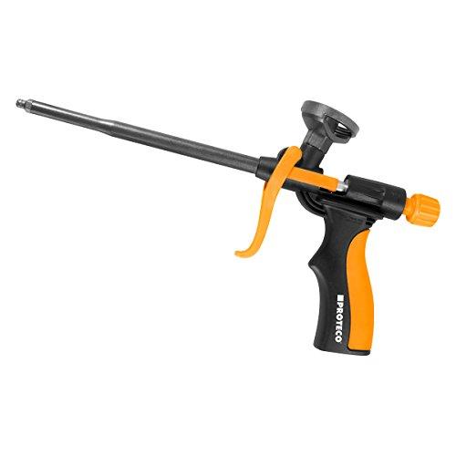 Proteco-Werkzeug® PU-Schaumpistole Teflon beschichtet Bauschaumpistole Montagepistole Profi-Qualität