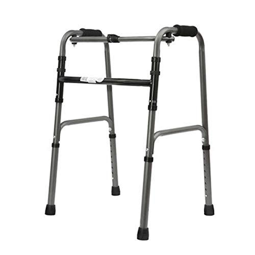 Älterer Walker, Aluminiumlegierungsstruktur, 2 Caster Walker, Sitzunterstützter Walker, (Design : A)