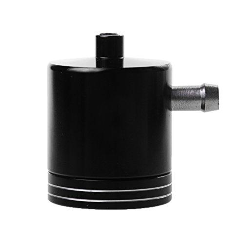 Gazechimp Aluminium Motorrad Bremse Tank Behälter Ölzylinder Bremsflüssigkeitsbehälter Schwarz