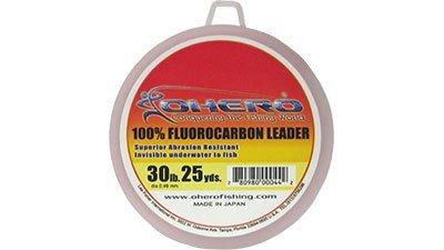 Ohero 100% Fluorocarbon Leader 30 Lb 25 Yards Spool (Fluorocarbon Leader Spool)