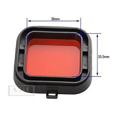 Rotfilter für GoPro HERO3...