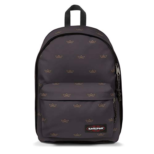 Eastpak OUT OF OFFICE Zaino Casual, 44 cm, 27 liters, Grigio (Minigami Boats)