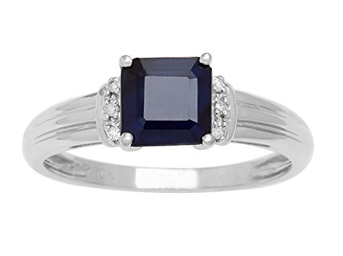 10k-white-gold-square-genuine-sapphire-and-diamond-ring-accent-ring