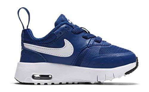 Nike Unisex Baby Air Max Vision (TDE) Niedrige Hausschuhe, Blau (Gym Blue/White/Black 402), 19.5 EU (Baby Blue Air Max)