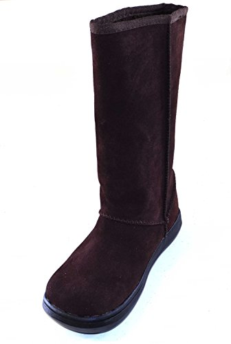 Rocket Dog Sugar Daddy Calf Length Suede Boots with Cozy Fur Lining...