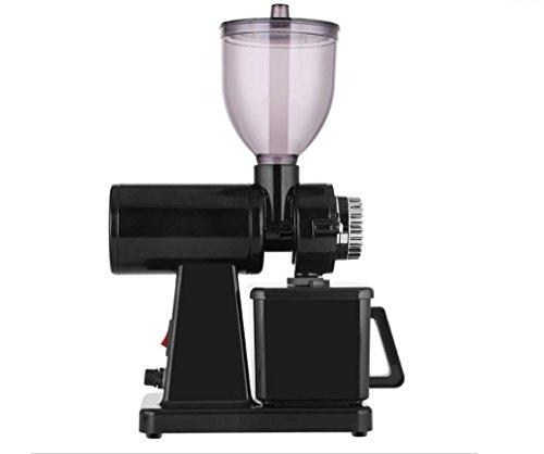 Nola Sang Kaffeemühle Haushalt Gewerbe Elektrische Schleifer Vintage Elegant Eight Gänge Einstellbare Feinheit , black Elektrische Lebensmittel-schleifer Und Mühlen