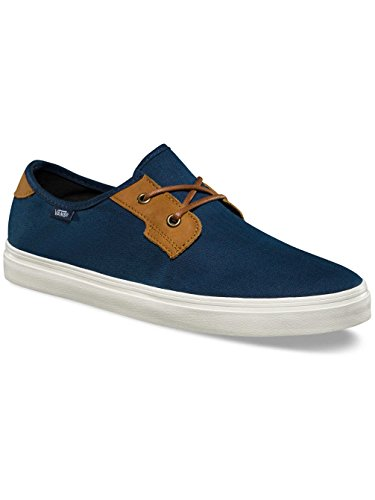 Vans MN Michoacan SF, Scarpe da Ginnastica Basse Uomo (herringbone Twill) Dress Blues