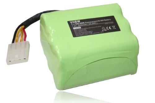 vhbw® Ni-MH Ersatzakku Akku 3500mAh (7.2V) für Saugroboter Staubsauger Roboter Neato Robotics, Neato Signature Pro, Essential