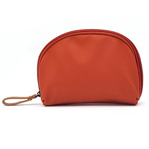 CLOTHES- Piccolo sacchetto cosmetico portatile sacchetto cosmetico portatile sacchetto cosmetico portatile sacchetto di lavaggio sacchetto di stoccaggio ( Colore : Blu ) Arancia