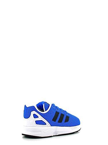 adidas  Zx Flux, Basses mixte enfant Bleu