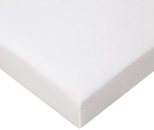 Jersey Spannbettlaken für Laufgitter 100x100 cm, weiß