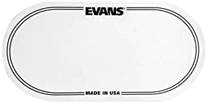Evans EQ Double Pedal Patch - Clear Plastic