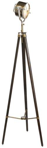 Suchscheinwerfer 1940, Bronze & Mahagoni