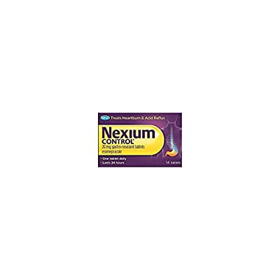 Heartburn and Acid Reflux Relief Tablets from Nexium Control
