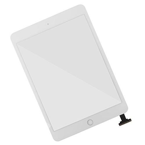 hirm Glas Schutzfolie Anzeigetafel Digitizer Ersatz Glas für iPad Mini 1 & 2 - Weiß ()