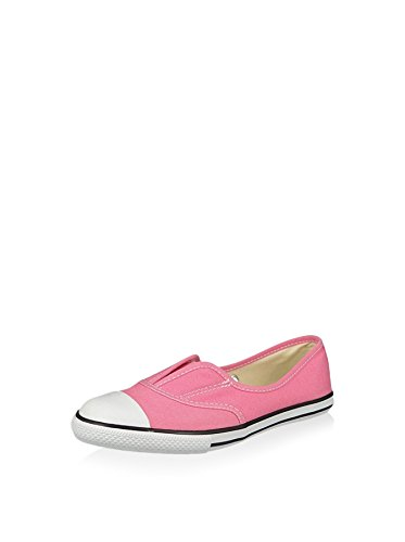 Converse Chucks enfants 351872C All Star Cove Pink Slip blanc naturel Rose