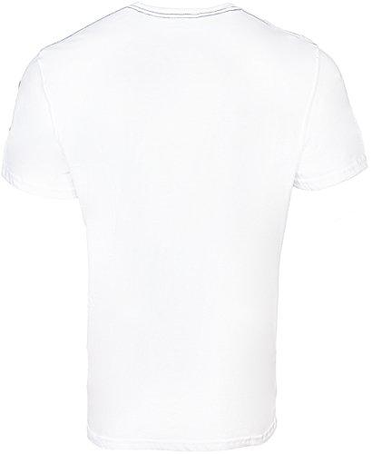 Lonsdale Herren Langarmshirt White
